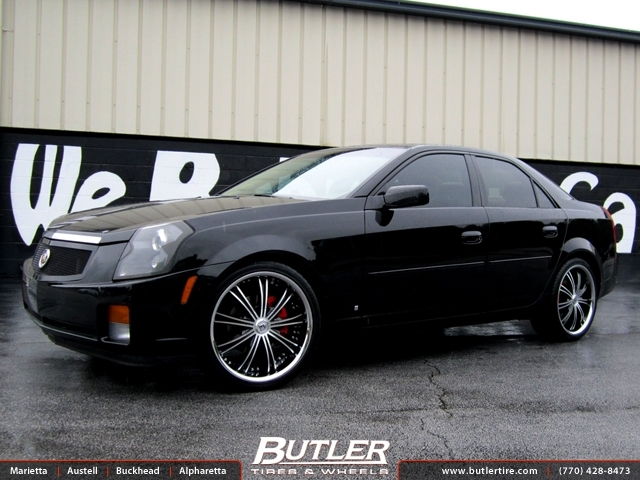 Cadillac CTS with 20in Lexani LX19 Wheels