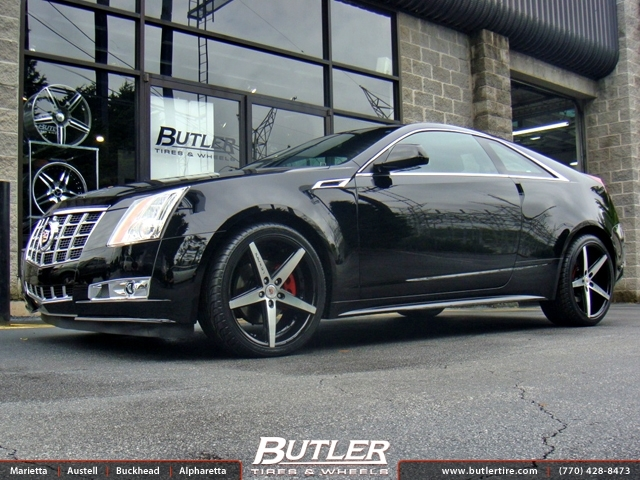 Cadillac CTS with 20in Lexani R-Four Wheels