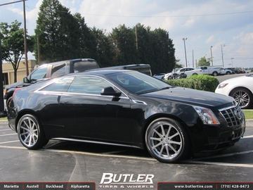 Cadillac CTS with 20in TSW Jerez Wheels