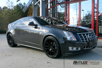 Cadillac CTS with 20in TSW Sebring Wheels