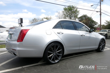 Cadillac CTS with 20in Vossen VFS10 Wheels