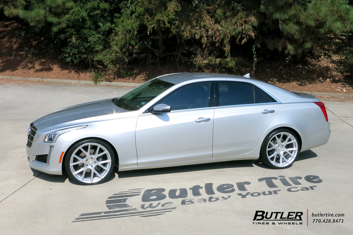 Cadillac CTS with 20in Vossen VFS6 Wheels