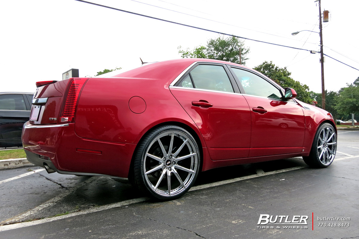 Cadillac CTS with 22in Lexani CSS10 Wheels