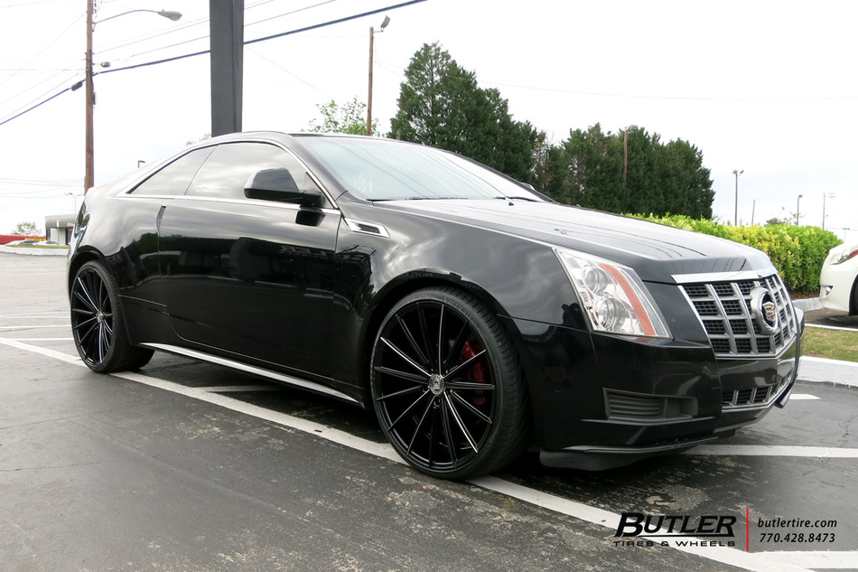 Cadillac CTS with 22in Lexani Pegasus Wheels exclusively ...