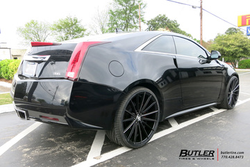 Cadillac CTS with 22in Lexani Pegasus Wheels