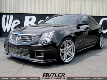 Cadillac CTS-V with 20in Lexani R-Five Wheels