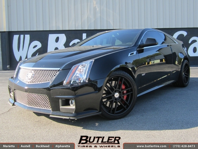 Cadillac CTS-V with 20in TSW Rouen Wheels