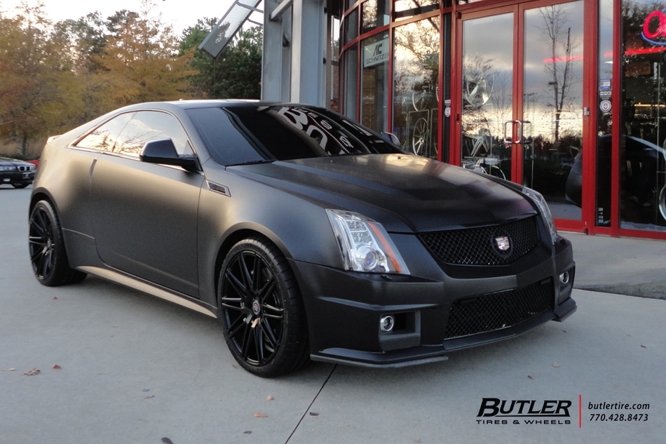 cadillac ctsv coupe with 20in xo milan wheels exclusively