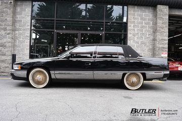 Cadillac Deville with 20in Galaxy 150 Spoke Wheels