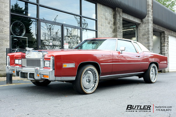 Cadillac Eldorado with 20in Savini Diamond Marconi Wheels