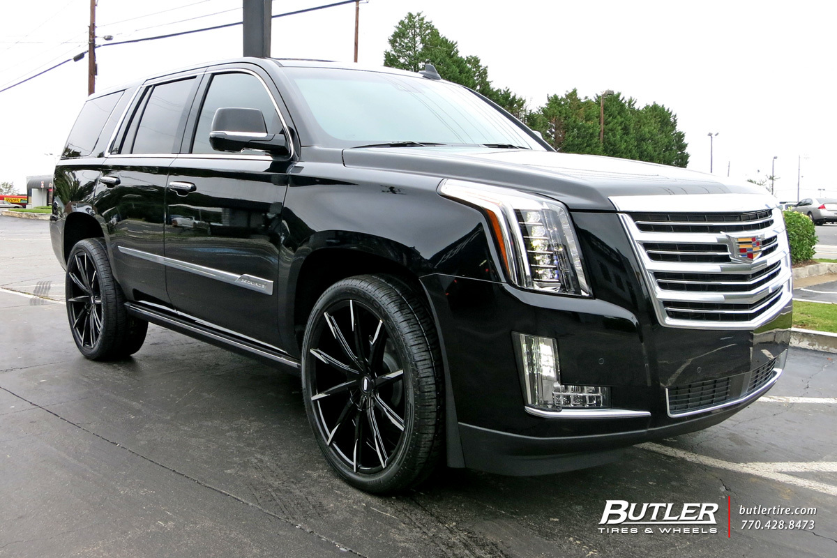 Cadillac Escalade with 24in Lexani CSS15 Wheels ...