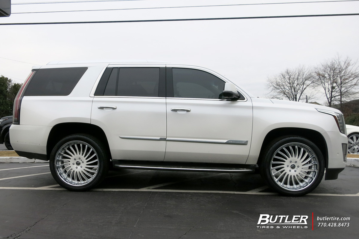 Cadillac Escalade with 24in Lexani LF712 Wheels
