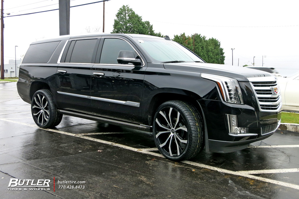 Cadillac Escalade With 24in Lexani Lust Wheels Exclusively
