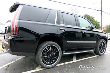 Cadillac Escalade with 24in Lexani Royal Wheels