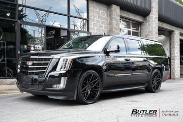 Cadillac Escalade with 24in Status Griffin Wheels