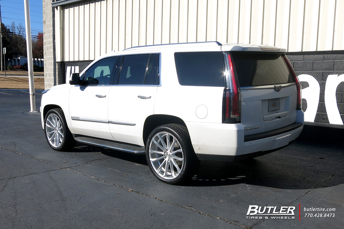 Cadillac Escalade with 24in Status Mastadon Wheels