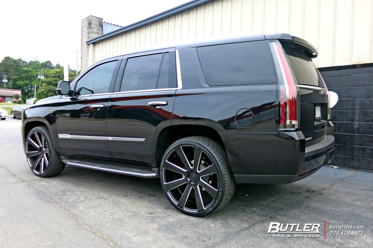Cadillac Escalade With 26in DUB 8 Ball Wheels Exclusively