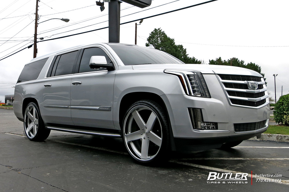 Cadillac Escalade With 26in Dub Baller Wheels Exclusively