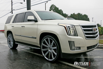 Cadillac Escalade with 26in DUB Shot Calla Wheels