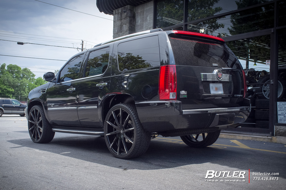 Cadillac Escalade with 26in Lexani CSS15 Wheels