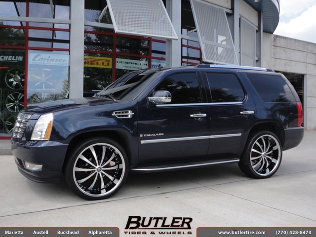 Cadillac Escalade With 26in Lexani Lss10 Wheels