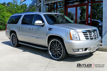 Cadillac Escalade with 26in Lexani LX10 Wheels
