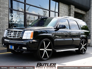 Cadillac Escalade with 26in Lexani R-Six Wheels