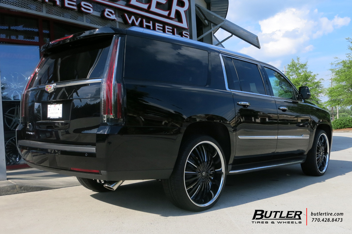 Cadillac Escalade with 26in Lexani Royal Wheels
