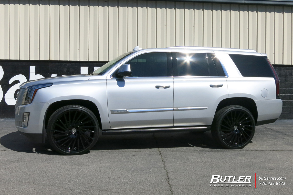 Cadillac Escalade with 26in Lexani Wraith Wheels