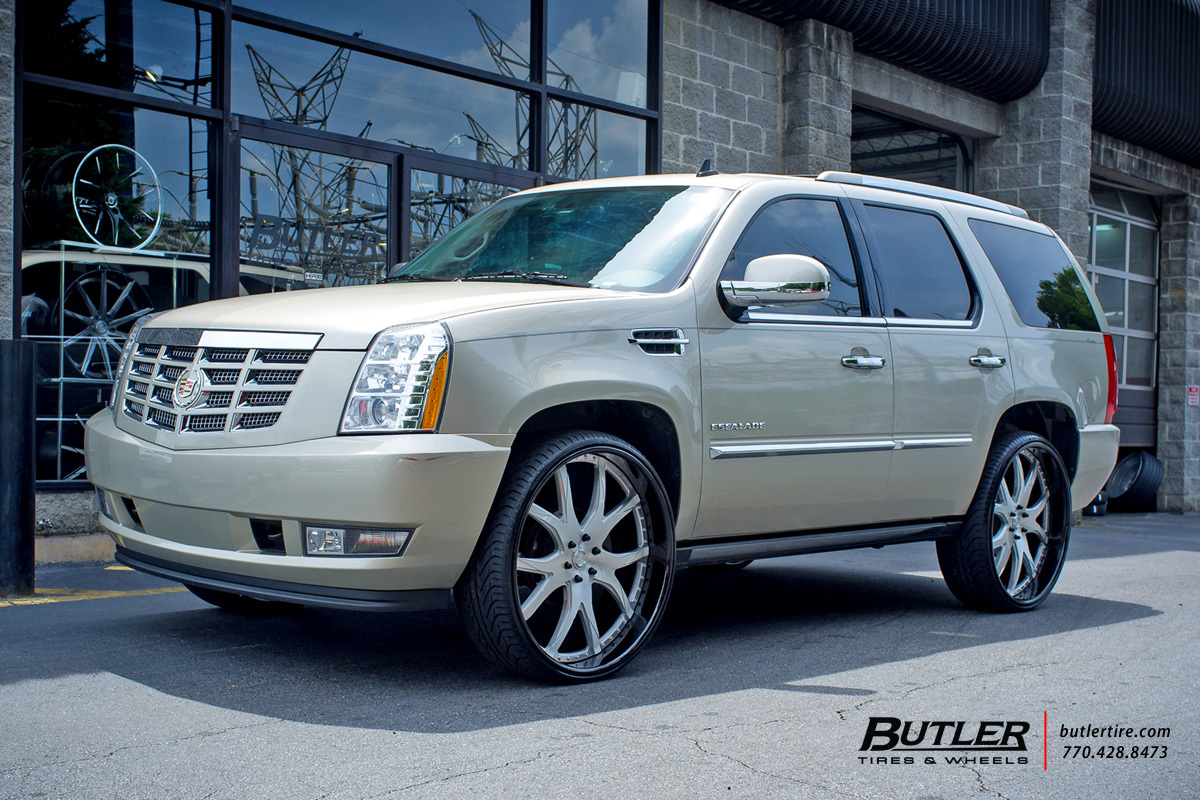 Cadillac Escalade with 28in Lexani LF102 Wheels