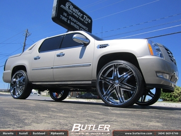 Cadillac Escalade with 30in Diablo Elite Wheels