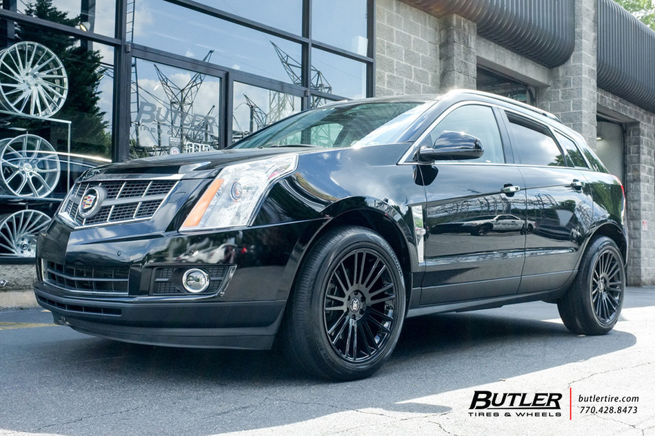 Cadillac Srx With 20in Black Rhino Kruger Wheels
