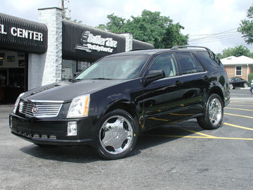 Cadillac SRX with 20in Driv DON Wheels