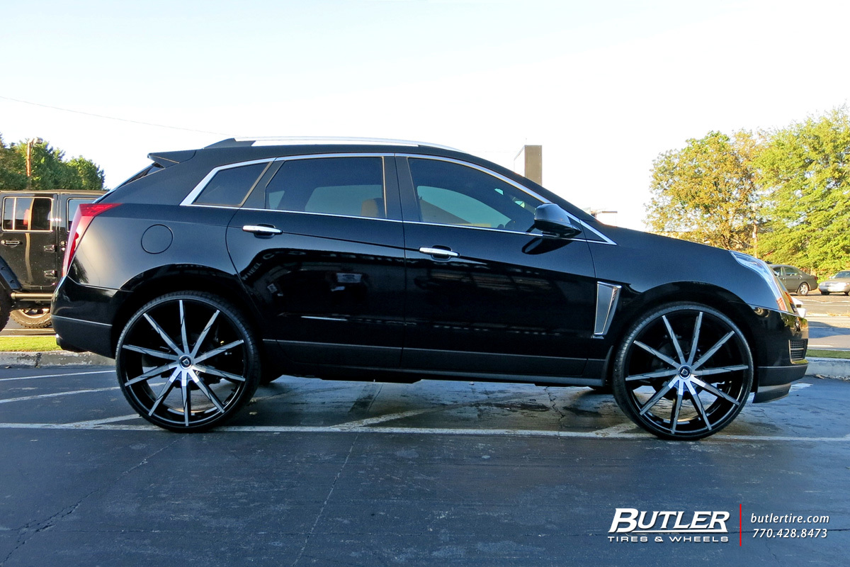 Cadillac Srx With 26in Lexani Css15 Wheels Exclusively