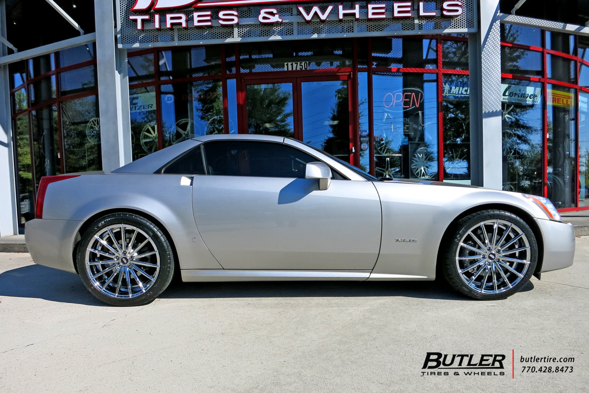 Cadillac XLR with 20in Lexani Pegasus Wheels