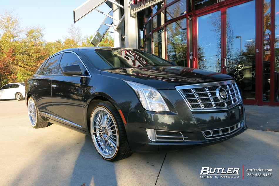 Subaru Of Dayton >> Cadillac XTS with 20in Beyern Multi Wheels exclusively ...