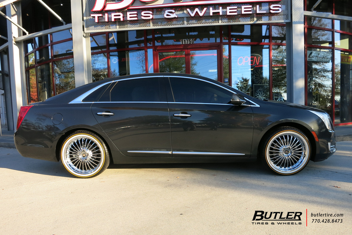 Cadillac Xts With 20in Beyern Multi Wheels Exclusively