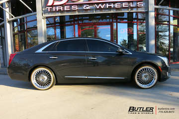 Cadillac XTS with 20in Beyern Multi Wheels