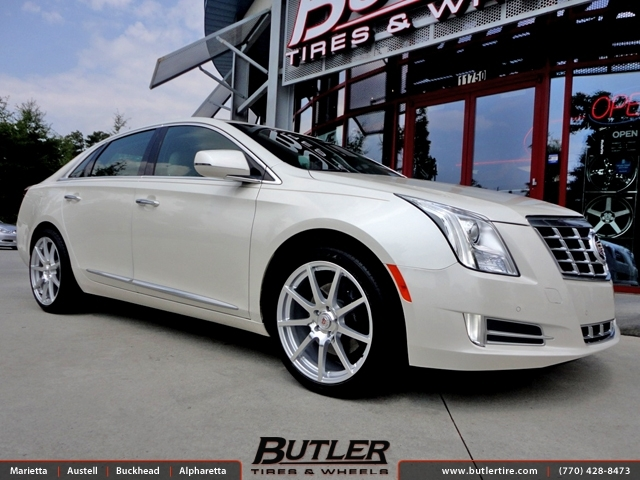 Cadillac XTS with 20in TSW Interlagos Wheels