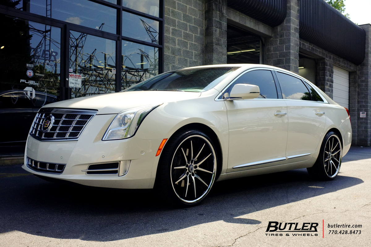 Cadillac Xts With 22in Asanti Abl5 Wheels Exclusively From