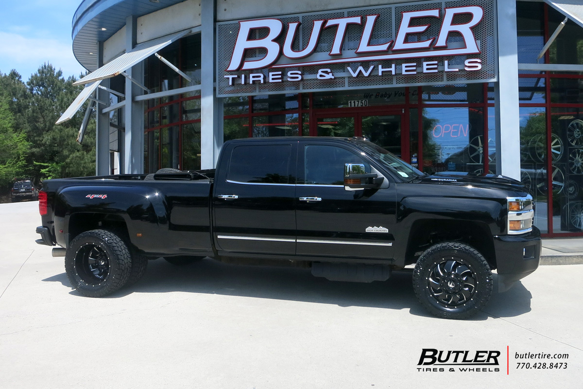 Chevrolet 2500HD Dually with 20in Fuel Cleaver Wheels ...