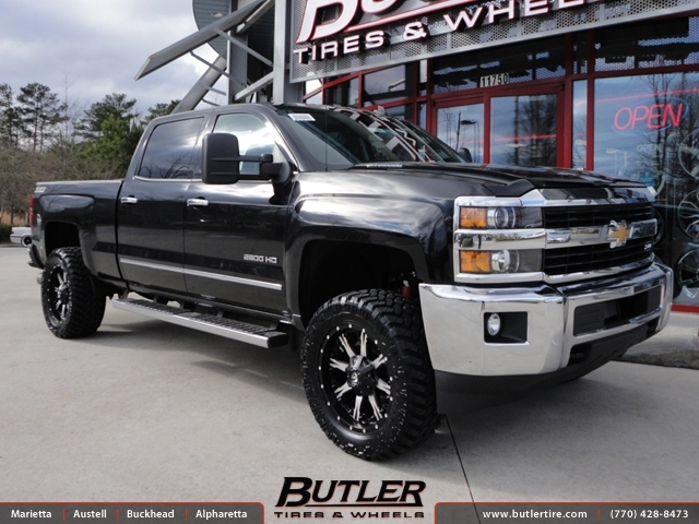Chevrolet 2500hd With 20in Fuel Nutz Wheels Exclusively