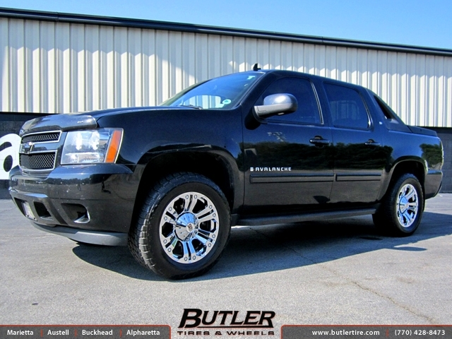 Chevrolet Avalanche with 20in XD Monster Wheels