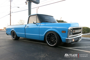 Chevrolet C10 with 20in Savini SV42 Wheels