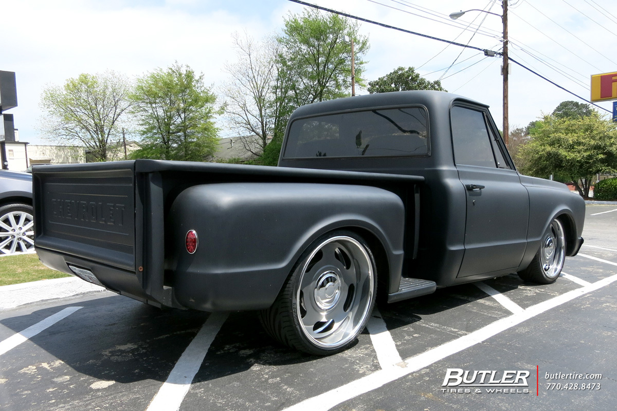 Volvo Of Marietta >> Chevrolet C10 with 22in US Mags Big Slot Wheels exclusively from Butler Tires and Wheels in ...