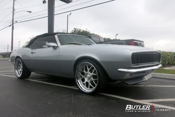 Chevrolet Camaro with 20in Avant Garde F110 Wheels