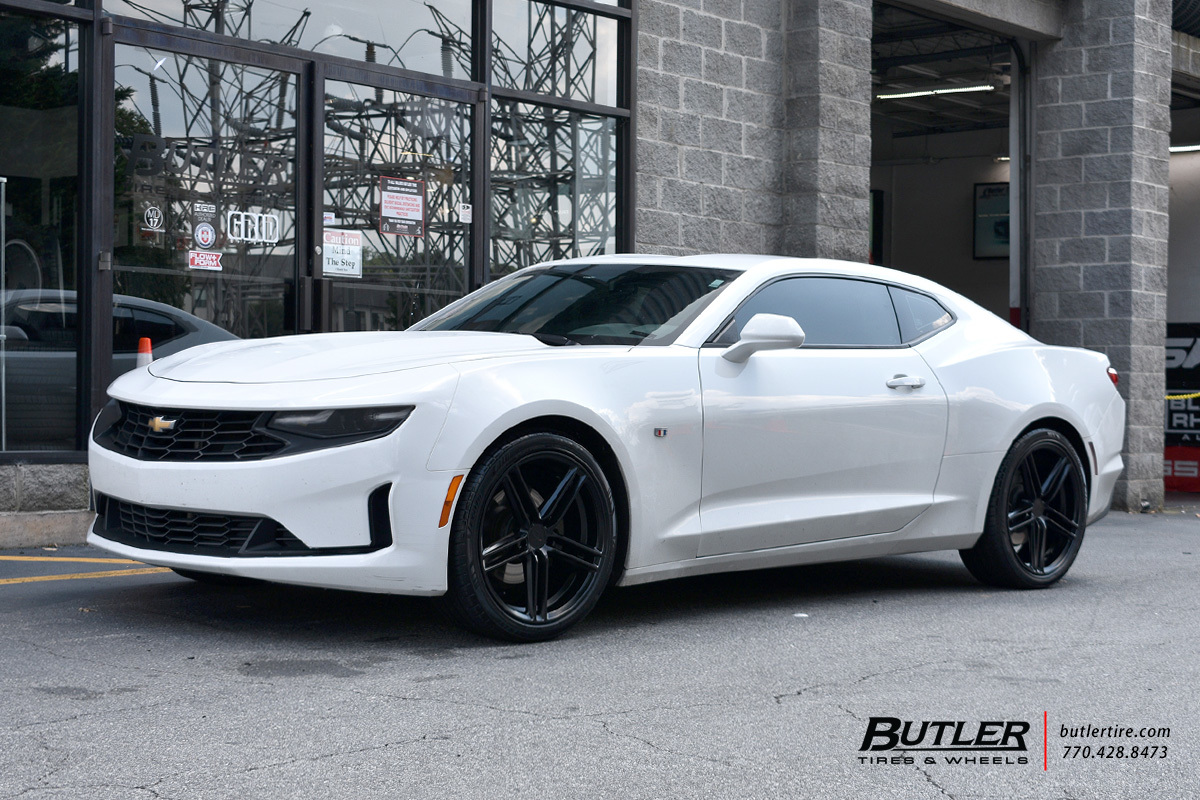 Chevrolet Camaro with 20in TSW Chapelle Wheels