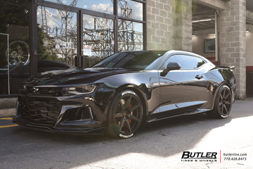 Chevrolet Camaro with 20in Vossen GNS-2 Wheels