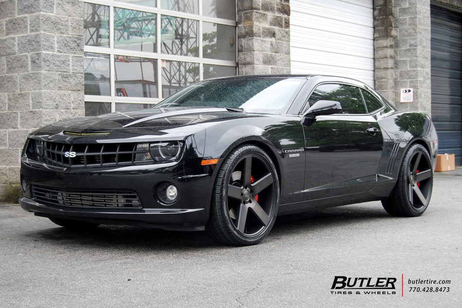 Chevrolet Camaro With 22in Dub Baller Wheels Exclusively From Butler Tires And Wheels In Atlanta