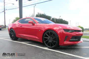 Chevrolet Camaro with 22in Savini BM15 Wheels